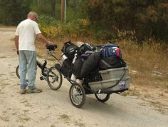 bugout bike: http://www.theprepperjournal.com/2015/12/19/bug-out-bike-trailer-rig/
