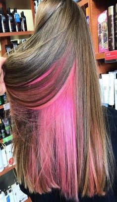 ove this style! Get more inspiration and share your own new look now! Pretty Hairstyles, Easy Hairstyles, Pretty Hair Color, New Hair Colors, The Help, New Look, Your Hair, Long Hair Styles, Pink