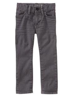 GAP Toddler Boy grey skinny jeans (R265)