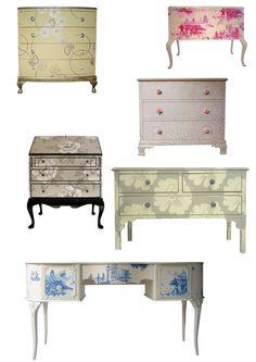 Paper covered furniture | littlemisschong