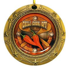 Decade Awards Chili Cook-Off World Class Medal with Red, White & Blue v-Neck Ribbon/Chile Cook Off Chili Cook Off, Thing 1, World Class, Blue V, Pictures To Paint, Chile, Bronze, Cooking, Easy