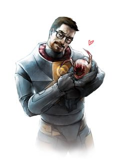 Gordon Freeman - In Colour! by JujuFei