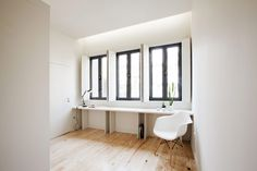 19 世紀老宅大變身!葡萄牙極簡純白獨棟住宅 | 設計王