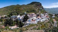 Artenara  es el pueblo más alto de Gran Canaria
