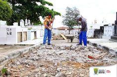 NONATO NOTÍCIAS: Prefeitura de Senhor do Bonfim inicia obras no Cem...