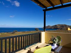 Panormos apartment rental - Stunning sea views from the balcony!
