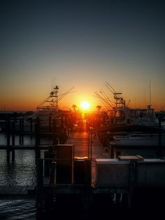 Sunset from a Captain's Chair at the Dockside in Port St. Joe