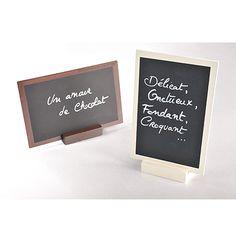 Tischdeko Tafel in braun und anderen Farben für Ihre Hochzeitstafel als Alternative für herkömmliche Tischkarten