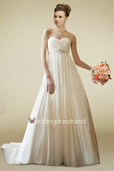 Lindos Vestidos de novia para embarazadas   Tendencias