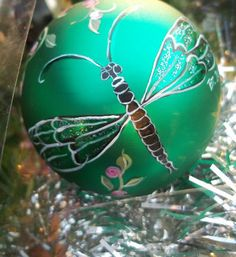 Dragonfly Christmas ornament???? YES! | DO WANT | Pinterest ...