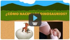 """""""The Flipped Classroom"""" blog shows students using TinyTap to present their research on dinosaurs"""