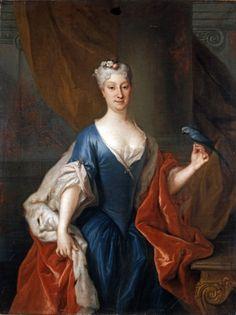 Catherine Barbara Branicka, Louis de Silvestre, 1726