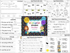 Wonders Reading for Kindergarten Unit 4 Week 3 is full of activities for your kiddos that review many concepts. You will find new and creative sight word exercises, a mini-book report related to the Big Book, differentiated leveled reader activities, handwriting, phonemic awareness activities, writing activities, literacy center games, assessments, letter to parents, and much more!