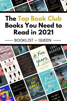 The Top Book Club Books 2021 will leave your book club list overflowing. Discover the best book club books to read in the new year. You'll find uplifting book club books, nonfiction book club books, book club books for women, and must read novels. Book Club Recommendations, Book Club List, Best Book Club Books, Book Lists, Good Books, Reading Lists, Top Books To Read, Must Read Novels, Uplifting Books
