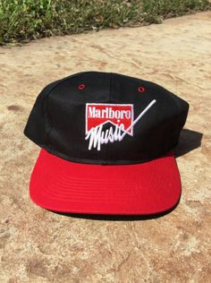 Vintage Marlboro Music Snapback! Check me out on Etsy! 35ac1463a49d
