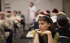 Therese #Belivet or co-worker no. 645-A at Frankenberg's cafeteria #CAROL movie 2015 Todd Haynes director #RooneyMara