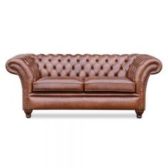 Springvale Chesterfield: Model Herne Bay, JMT Matera Tobacco Leather. Chesterfield Bank, Sofa, Couch, Leather, Furniture, Home Decor, Decoration Home, Room Decor, Settee