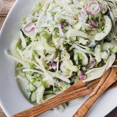 Cucumber-Fennel Salad with Herbed Goat Yogurt Recipe  - Tom Colicchio | Food & Wine