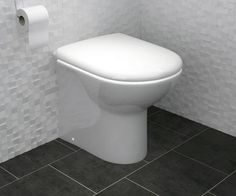 Essential Bathroom Back to Wall Toilet | Bathrooms.com
