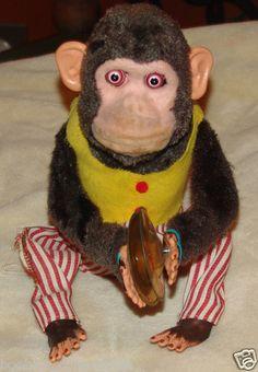 Musical Jolly Chimp Cymbal-banging Monkey Toy Daishin C.K.