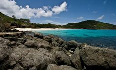 Macaroni Beach in Saint Vincent & the Grenadines! Enjoy the beauty of Mustique island!