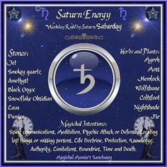 saturn correspondences and images Moon Spells, Magick Spells, Wicca Witchcraft, Astrology Planets, Astrology Numerology, Astrology Compatibility, Feng Shui, Moon Magic, Practical Magic