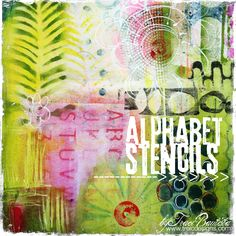 artJOURNALING daily: alphabet stencils ... ideas & fun examples