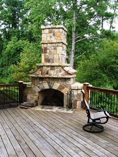 outdoor stacked stone fireplace with hearth fireplaces and