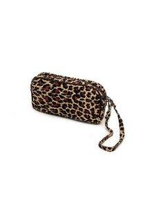 Ladies Golf Accessories : Glove Its Leopard Collection-Wristlet