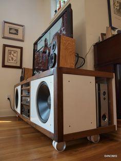 Console 2.0 | DIY Hi-Fi Project | Speaker & HTPC Integration