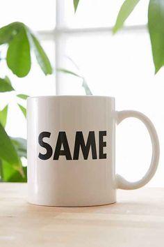 Same Mug- Black & White One