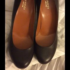 """**Gucci** Sexy Gorgeous  Stilettos Butter leather 4.5"""" heel, FABULOUS!!  Fits a 9!!! PRICE FIRM UNLESS BUNDLED!!! Gucci Shoes"""