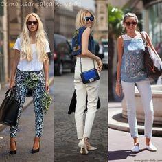 Como usar calça no verão - How to wear trousers at summer