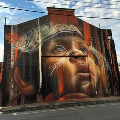 """Something new from Adnate in Melbourne, Australia #streetart #streetartnews @adnate @deansunshine"""