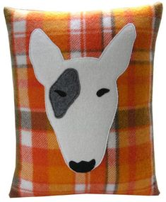 Bully Dog pillow - Seam by Sue McMillan