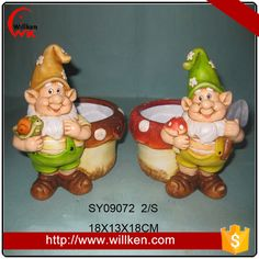 Source Handmade small resin garden gnomes craft sculpture figurines on m.alibaba.com
