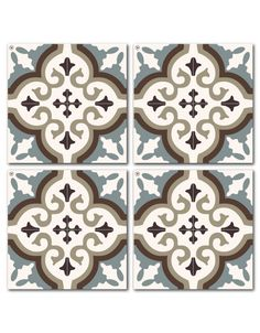 Beija Flor's Coasters collection is a celebration of color and art.  Based on historic tile designs and patterns, a coaster does not only protects a table, but also creates an artistic addition to any table.  Each pack of Coasters includes 4 pieces.
