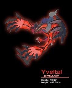 Pokemon X and Y Yveltal Legendary Pokemon