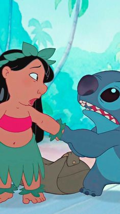 Lilo and Stitch Disney Stitch, Lilo And Stitch 2002, Wallpaper Iphone Disney, Cute Disney Wallpaper, Cartoon Wallpaper, Disney Images, Disney Pictures, Disney Art, Disney Background