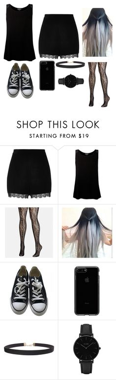 """""""Unnamed #125"""" by happyfromfairytail ❤ liked on Polyvore featuring River Island, Ghost, Avenue, Converse, Humble Chic and CLUSE"""