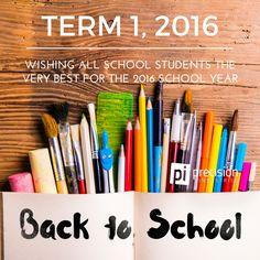 Good luck for 2016! #backtoschool #precisionindustries #pi