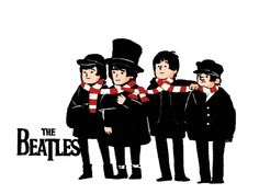 The Beatles by Knifeson