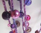 crochet bead jewlery