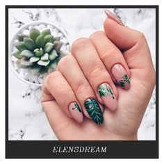 42 unique and beautiful winter nail designs page 31 Manicure Nail Designs, Manicure And Pedicure, Nail Art Designs, Manicure Ideas, Winter Nails, Summer Nails, Spring Nails, Trendy Nails, Cute Nails