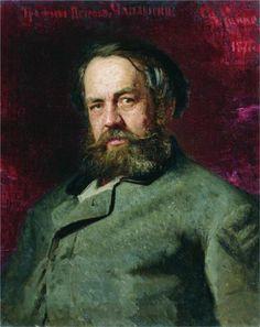 Portrait of T.P. Chaplygin, a cousin of Ilya Repin, 1877  Ilya Repin Russian Painting, Russian Art, Figure Painting, Basic Painting, Ilya Repin, Traditional Paintings, Traditional Art, Academic Art, Ukraine