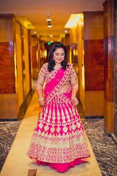 plus size brides – bestlooks - ThealiceOnline Indian Wedding Fashion, Indian Wedding Outfits, Indian Outfits, Plus Size Lehenga, Bride Reception Dresses, Plus Size Brides, Indian Bridal Lehenga, Indian Sarees, Curvy Bride