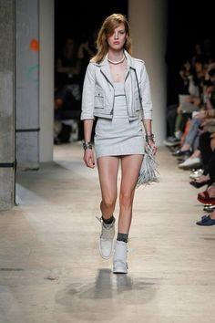 Zadig & Voltaire Spring-Summer 2014 Fashion Show #ParisFashionWeek #Zadig #zadigetvoltaire #white
