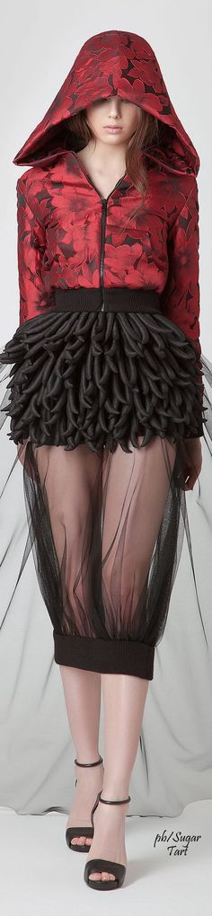 Jean Louis Sabaji S/S 2015 Couture