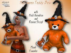 Halloween Teddy Bear - transfer - * SPECIAL PRICE Halloween Promo * - Dedalo Creations -