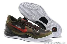 555286 301 SQDRN GREEN/CHLLNG RD-LGN BRWN GC Nike Kobe 8 System Online